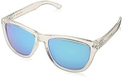 Hawkers Air Clear Blue One Gafas de Sol Unisex, Transparente