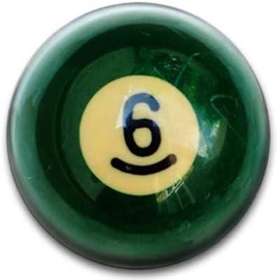 Bolas de billar número 6 Badge: Amazon.es: Hogar