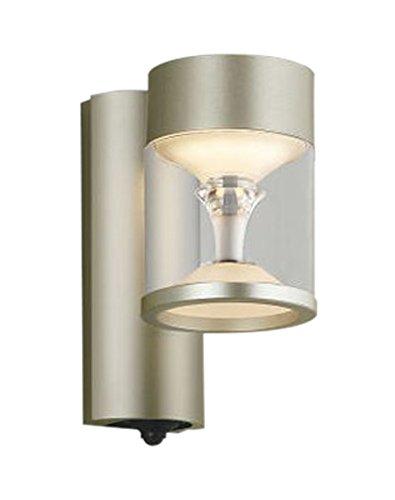 コイズミ照明 エクステリアライト TWIN LOOKS マルチタイプ 人感センサ付 ウォームシルバー AU45485L B01G8GOD1G