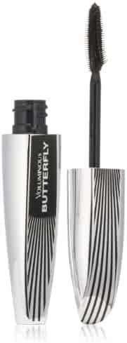 L'Oréal Paris Voluminous Butterfly Lengthening Washable Mascara, Blackest Black, 0.22 fl. oz.
