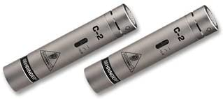 Behringer C-2 - Micrófono de condensador (de estudio): Amazon.es ...