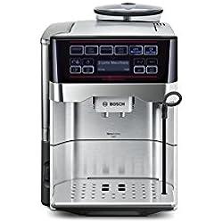 Bosch TES60729RW VeroAroma 700 Fully Automatic Espresso Machine OneTouch DoubleCub, Silver