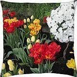 Tulips are spring-blooming 20 - Throw Pillow Cover Case (18