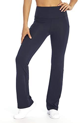 Marika Eclipse Tummy Control Bootleg Legging, Midnight Blue, Small