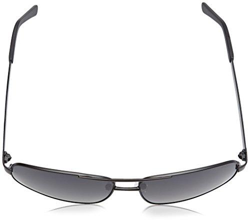 Ocean Sunglasses Londres Lunettes de Soleil Mixte Noir Mat