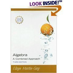Algebra A Combined Approach - Annotated Instructors Edition (3rd)