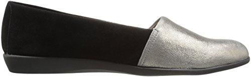 Aerosoles Damen Trend Setter Slip-On Loafer Silber-Combo