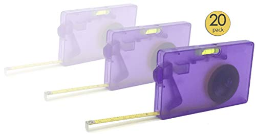 20 Pack - Tape Measure with Level and Stopper 78