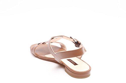 L amour sandali bassi marrone