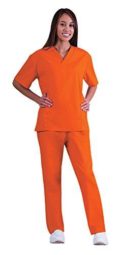 bright orange pants - 7