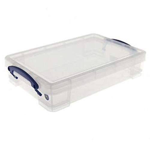 /Transparent /pour A4/Papier/ 3/x Really Useful Box Bo/îte de rangement 4,0/L/