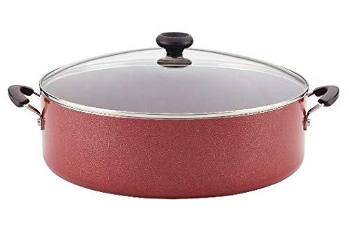 (Farberware Easy Clean Aluminum Nonstick Covered Family Pan, 14-Inch)