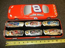 NASCAR Dale Earnhardt jr # 8 KNIFE SET OF 6 nos with Car Shaped Tin Box