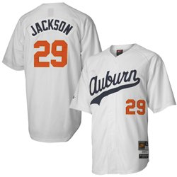 hot sale online bf81b 9f725 Amazon.com : Nike Auburn Tigers #29 Bo Jackson White ...