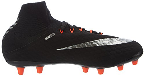 Nike Hypervenom Phatal Iii Agpro, Zapatillas de Fútbol para Hombre, Negro, 24 EU Negro (Black/metallic Silver-black-anthracite)