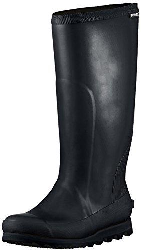 de Sea Bottes Femme Tall Pluie Bottines et Sorel Rain Salt Black Noir Joan qgaYwxPc6H