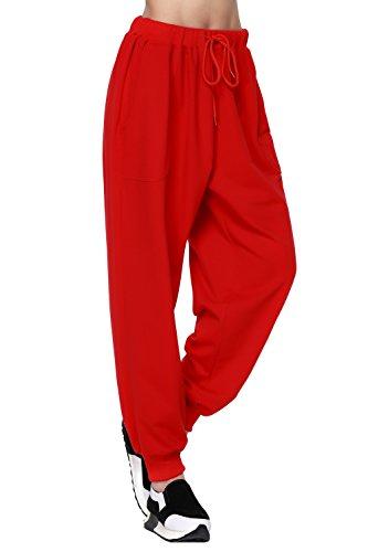 Drawstring Harem Pants - 8