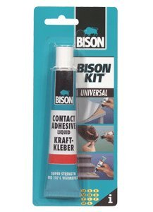 2 x 6305326 Bison Kit Universal Contact Adhesive Glue 50ml.