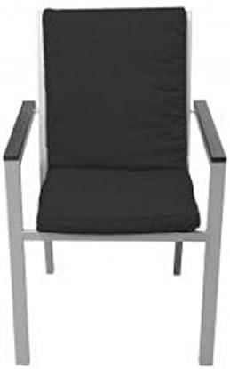 Kissen-Sessel schwarz