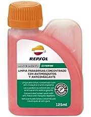 Repsol RP706C83 Limpia Parabrisas Concentrado Antimosquitos y Anticongelante, 125 ml