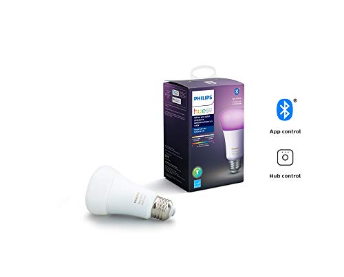 Philips Hue 542332 GU10 LED Smart Light Bulb, 1, White and Color Ambiance