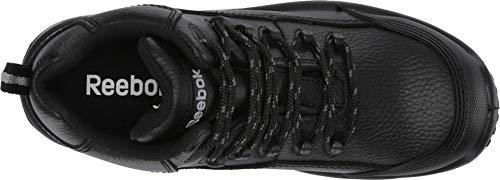 Reebok Women's Tiahawk Waterproof Sport Hiking Boot Composite Toe Black 6.5 D(M) US by Reebok (Image #1)
