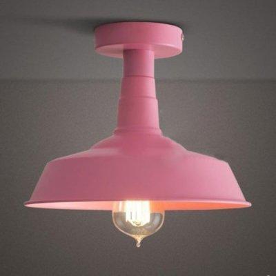 feiyan Pink Lady Semi Flush 1 Light Ceiling Light