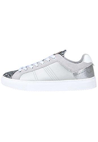 Silver En Paillettes Bratre Cuir Colmar Chaussures Or Lacets Espadrilles ZYqnw8waA