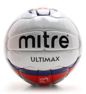 best authentic 8ae56 180a7 ... Mitre-Ultimax-MLS-Official-Match-Ball-1996  Mitre Ultimax Football  Mitre  Ultimax 26P Professional Football - White Red FIFA Approved, Size 5 ...