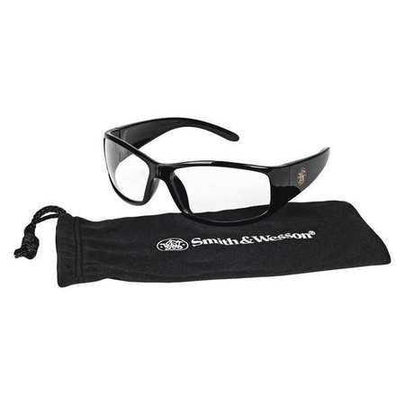 Smith & Wesson Clear Safety Glasses, Anti-Fog, Scratch-Resistant