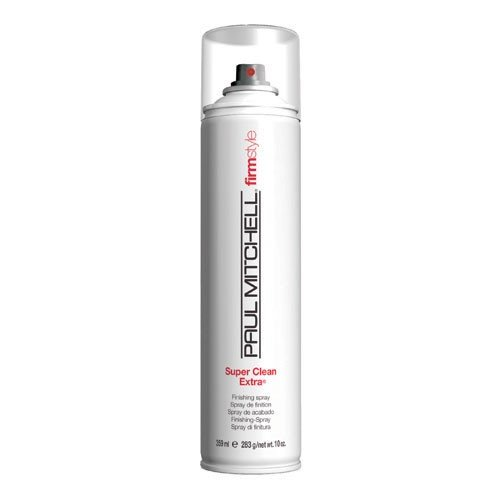 Paul Mitchell Super Clean Extra Finishing Spray Firm Style Unisex, 3.5 Ounce (Spray Firm Extra Finishing)