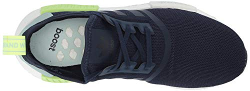 adidas Originals Unisex NMD_R1 Running Shoe, Collegiate Navy/ice Mint, 3.5 M US Big Kid by adidas Originals (Image #8)