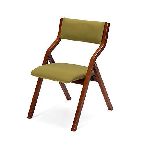 Sillas Plegables de Madera Maciza Mesas y sillas de Comedor ...