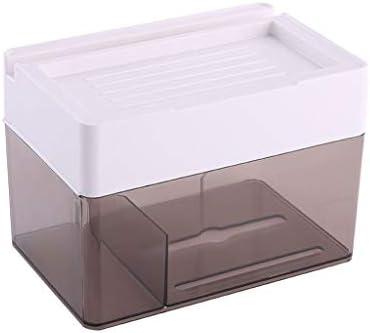 トイレのティッシュボックスバスルームキッチンリビングルームのためにパンチのないトイレットペーパートレイ多機能防水ラックウォールマウント