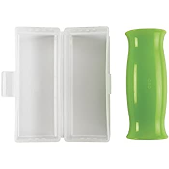 OXO Good Grips Silicone Garlic Peeler with Stay-Clean Storage Case