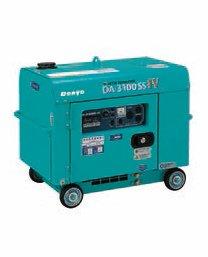 Denyo (デンヨー) 小型ディーゼル発電機 DA-3100SS-IV 防音型