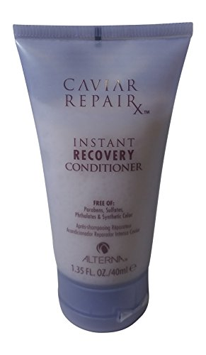 Alterna Caviar Repair Travel Trio: Instant Recovery Shampoo & Conditioner & Re-Texturizing Protein Cream 1.35 oz each by Alterna (Image #2)
