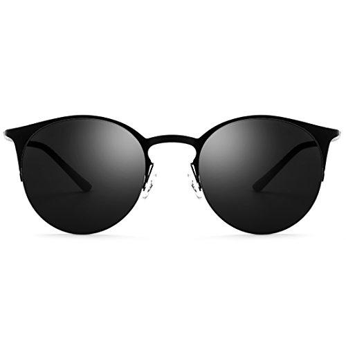 Sol Señoras La De Pesca Gafas A de del Lens De Frame De Medio Blue Hombres Gray Los Las TLMY Gafas Frame Black Marco Color Sol Conducen Que Blue De Lens Espejo ZtqWEwv