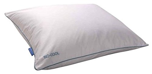 Isotonic Iso-Cool Traditional Polyester Pillow with Outlast Cover, - Georgia Tech Pillowcase