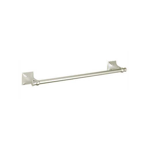 24' Towel Bar Brushed Brass - Jado 020/600/144 Illume 24-Inch Towel Bar, Brushed Nickel