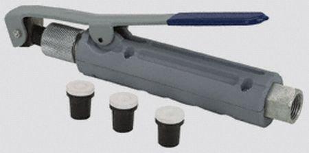 Abrasive Blasting Deadman Valve with 4 Ceramic Nozzles (2 mm, 2.5 mm, 3 mm, 3.5 mm)