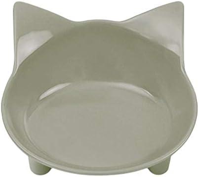 Platos de Las Mascotas Cuencos Comida para Gatos Cuencos de Agua Cat Ancho y Poco Profundo Alivio del estrés Fatiga Diseño Lindo del alimentador ...