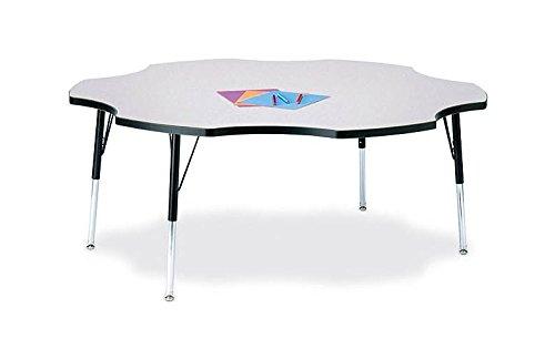 Ridgeline Kydz Six Leaf Activity Table (15 - 24 in. H - Maple) by Jonti-Craft