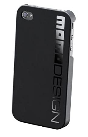 Cellular Line Momo - Carcasa para Apple iPhone 4/4S, negro