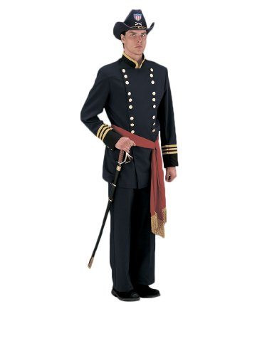 Deluxe Civil War Union Officer Theatrical Quality Costume, - Soldier American Shoes