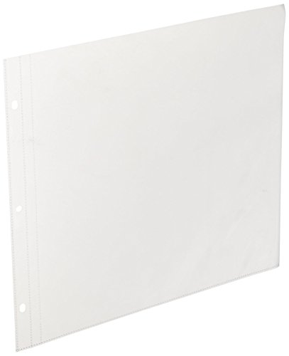 Kaisercraft SA200 D-Ring Album Page Protectors Pocket, for sale  Delivered anywhere in USA