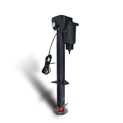 F2C Adjustable Height 3500 Lb 12-Volt A-Frame RV Trailer Jack Electric Power Tongue(#1)