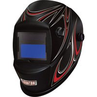 Ironton 500 Series Auto-Darkening Welding Helmet - Black
