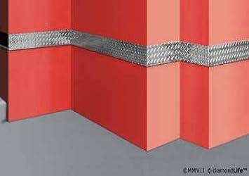 Diamond Plate Chair Rail Ideas 6 In. X 4 Ft. Smooth Metal Case