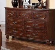 Antique Cherry Finish Dresser by Poundex Antique Cherry Finish
